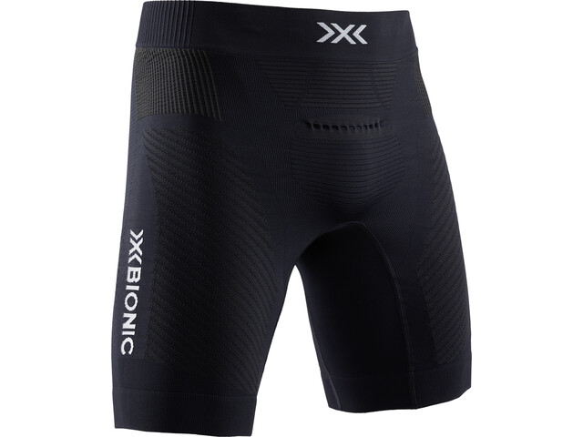 X-Bionic Invent 4.0 Run Speed Pantalones cortos Hombre, opal black/arctic white